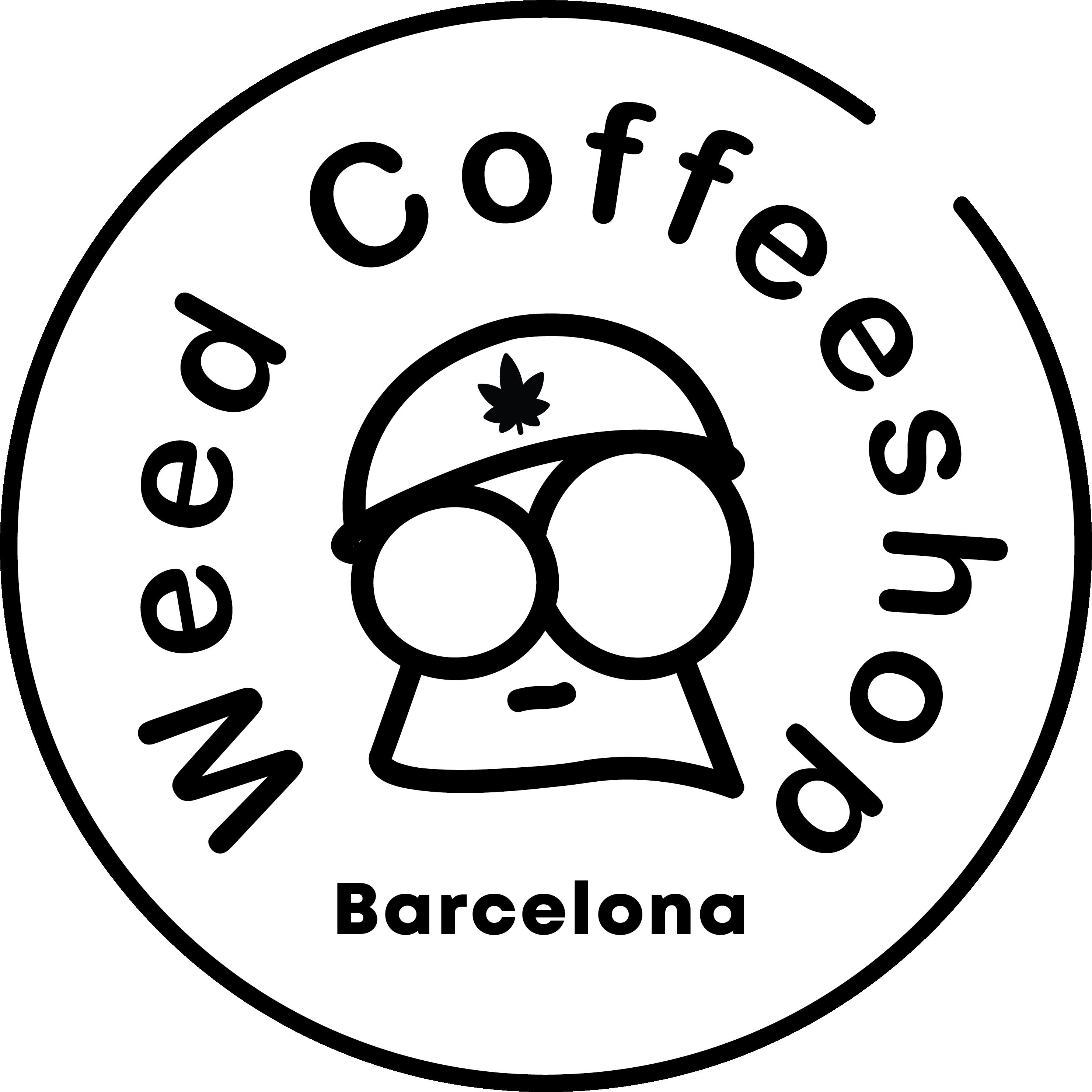 Weed Coffeeshop Barcelona Logo